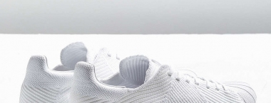 "一尘不染,adidas Superstar Bounce Primeknit ""Triple White"""