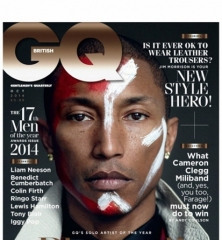 Pharrell Williams 荣登《GQ》10 月刊封面