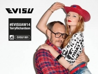 Terry Richardson & Eniko Mihalik 演绎,Evisu 2014 秋冬宣传图集