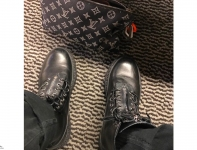 Kim Jones 曝光 Louis Vuitton x fragment design 全新联名靴款