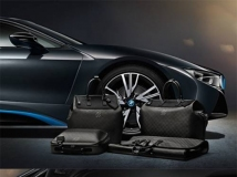 BMW i8 x Louis Vuitton 定制箱包系列